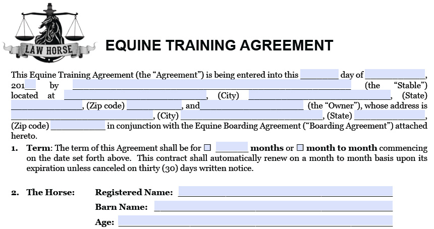 Awesome Training Agreement Pictures  Best Resume Examples And